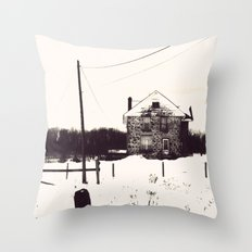 The House Throw Pillow