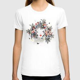 Chrysanthemum Mood T-shirt
