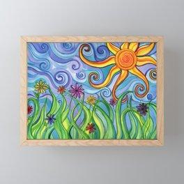 Sunny Skies Framed Mini Art Print