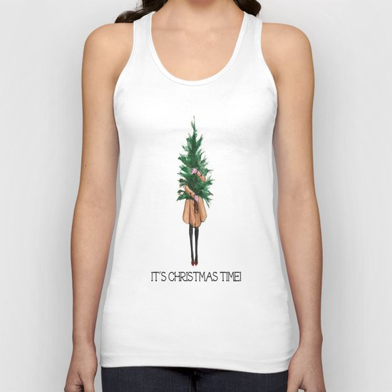 It's Christmas Time Unisex Tank Top