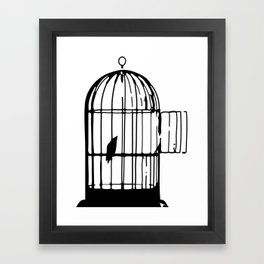 Birdcage Framed Art Print