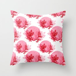 Dare to bloom Throw Pillow