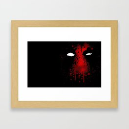 Pool Of Dead Framed Art Print