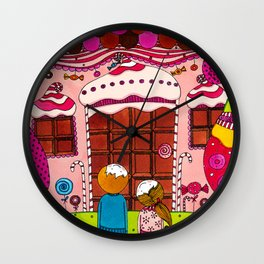 Hansel and Gretel Wall Clock