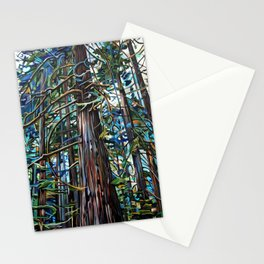 Tofino Rain Forest Painting Stationery Cards