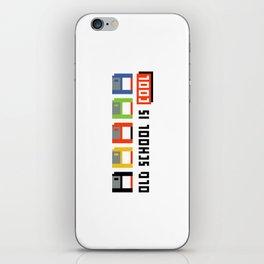 Floppy Disk iPhone Skin