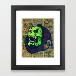 Skeletor Framed Art Print