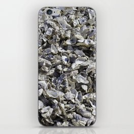 Shucked Oyster Shells iPhone Skin