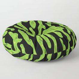 Splattered Slime [BLACK] Floor Pillow