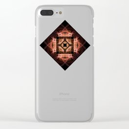 Dance of the Veils Clear iPhone Case