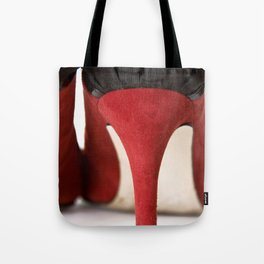 little Red Number Tote Bag