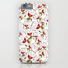 Good luck cat pattern/ red Maneki-neko Slim Case iPhone 6s