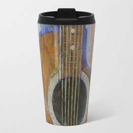 Guitar Sunshine Travel Mug