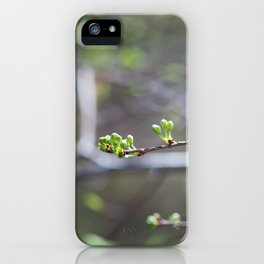 Buds iPhone Case