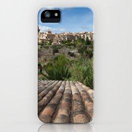 Valldemossa rooftop iPhone Case