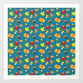 Autumn Favorites Art Print