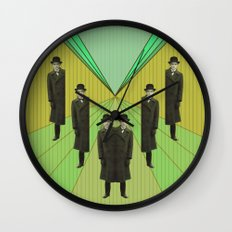 spies are everywhere Wall Clock