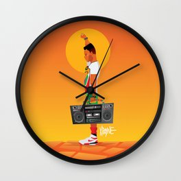 Radio Raheem Wall Clock