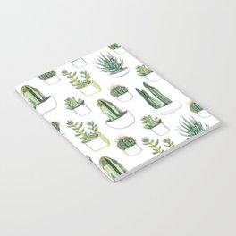 Watercolour Cacti & Succulents Notebook