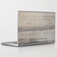 concrete Laptop & iPad Skins featuring Concrete by Patterns and Textures