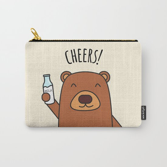 Cheers, Bear! Carry-All Pouch