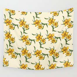 Daffodils Wall Tapestry