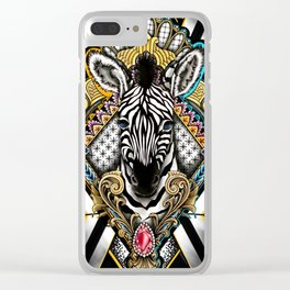 Prince of the Savanna Clear iPhone Case