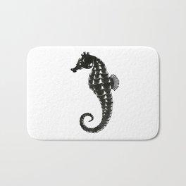 Sea Horse B/W Bath Mat