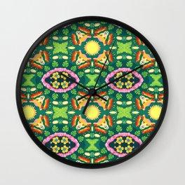 Hawaiian Lion Wall Clock