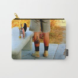 A Benchmark Achievement Carry-All Pouch