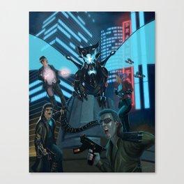 Hypercorps 2099 Canvas Print
