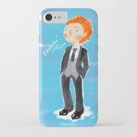 tom hiddleston iPhone & iPod Cases featuring Tom Hiddleston - Ehehehe! by Delucienne Maekerr
