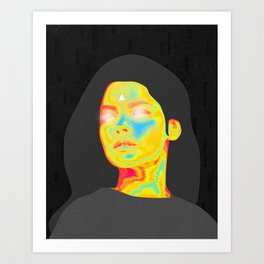 Colorful Reality Projector Art Print