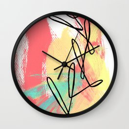 Where Is Your Passion series no.4 Wall Clock