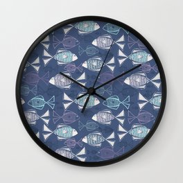 Here, Fishy Fishy Wall Clock