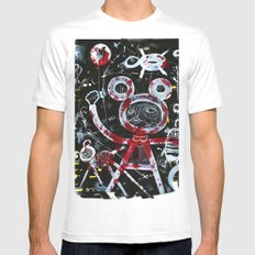 Vacation White Mens Fitted Tee MEDIUM