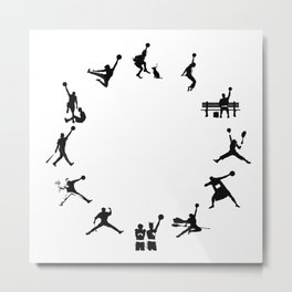 #TheJumpmanSeries, The First 12  Metal Print