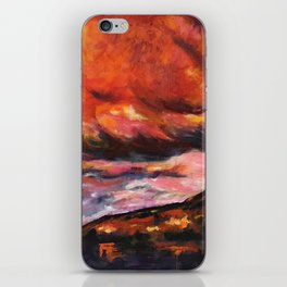 July in New Mexico iPhone Skin