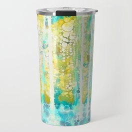 Sherwood Pines Abstract Art Travel Mug