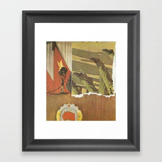 Little Red Book  Framed Art Print