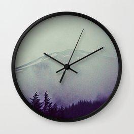 Shy Fuji Wall Clock