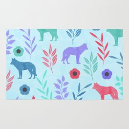 Forest Animal and Nature Rug