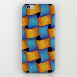 Woven - Pattern Painting iPhone Skin