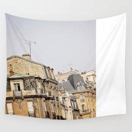 Parisian buildings Wall Tapestry