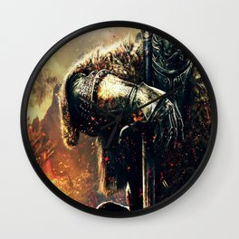 Prince of Darkness Wall Clock