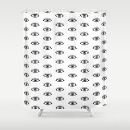 All Eyes On You Shower Curtain