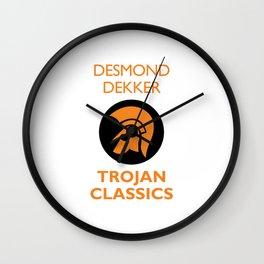 Classic Trojan Wall Clock