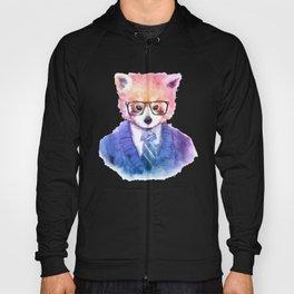 Cute fashion hipster animals pets red panda Hoody