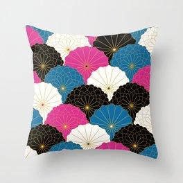 Japanese Chrysanthemum 2 Throw Pillow