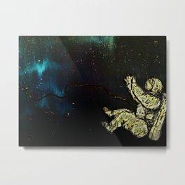 Astronaut afloat(Spaced) Metal Print